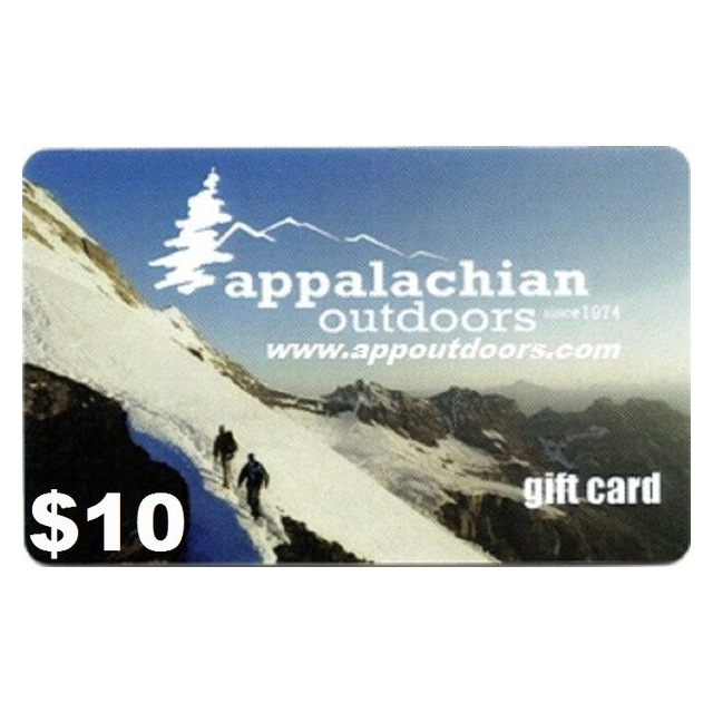 Appalachian Outdoors - $10 Gift Card