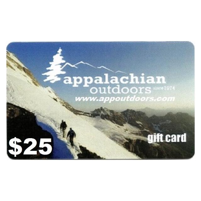 Appalachian Outdoors - $25 Gift Card
