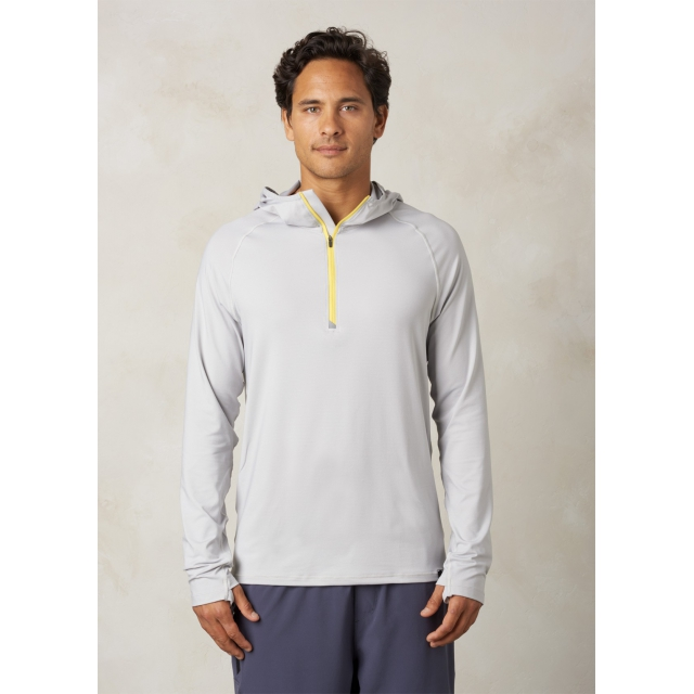 Prana - Men's Breaker Hooded 1/4 Zip
