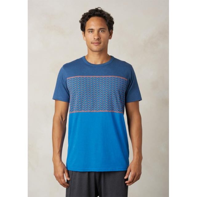 Prana - Men's Throttle Colorblocked Crew