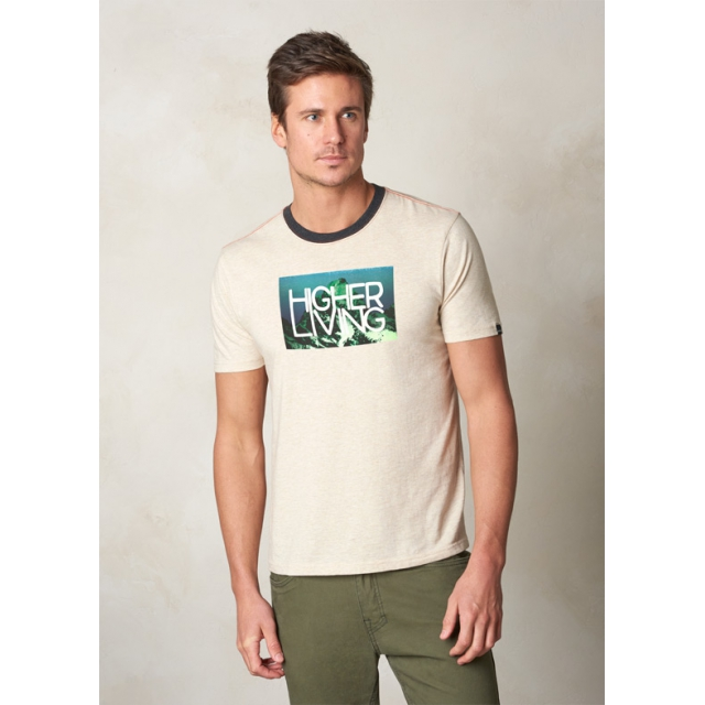 Prana - Higher Living Logo Ringer