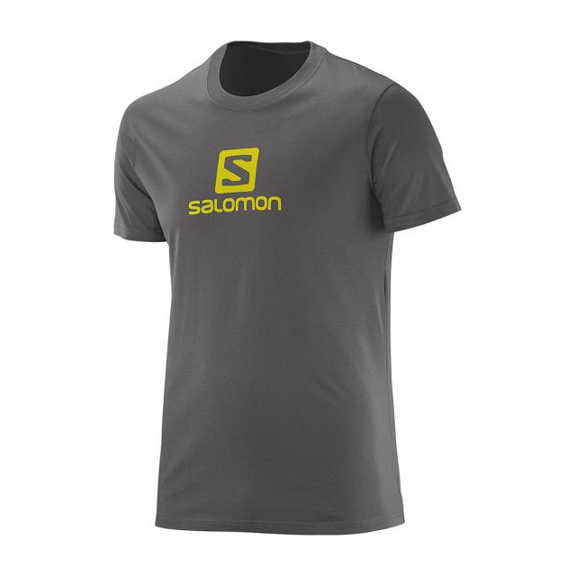 Salomon - SS Logo Cotton Tee M