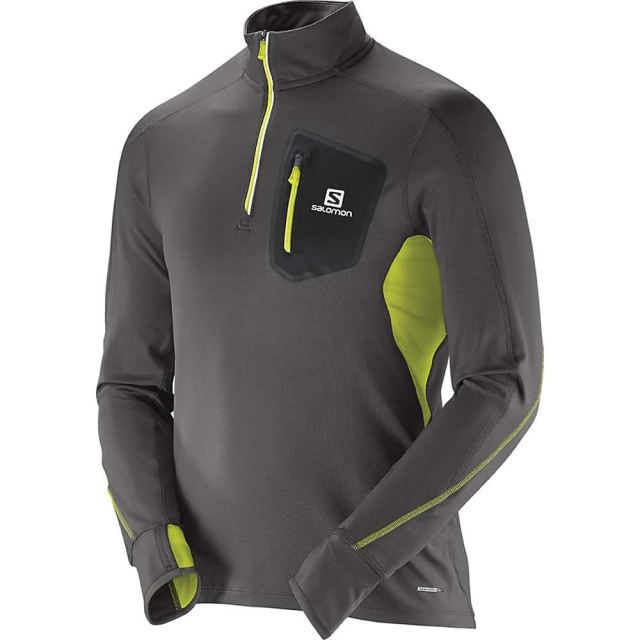 Salomon - Trail Runner Warm S Zip Tee M