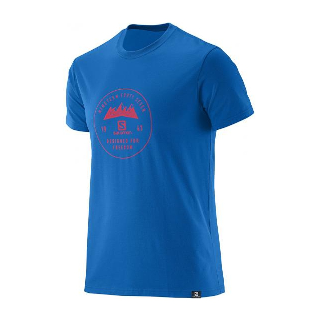 Salomon - Mount Sign SS Blend Tee M