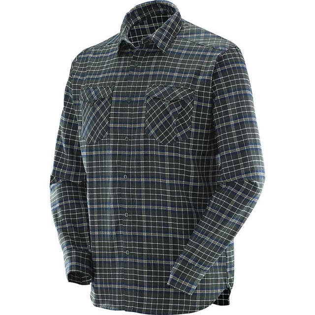 Salomon - Boundless Flannel LS Shirt M