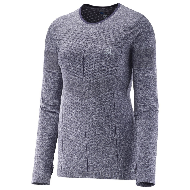 Salomon - Elevate Seamless LS Tee W
