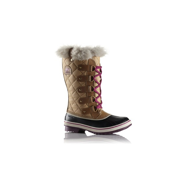 Sorel - Tofino Cate Boot - Women's-Curry/Red Plum-5