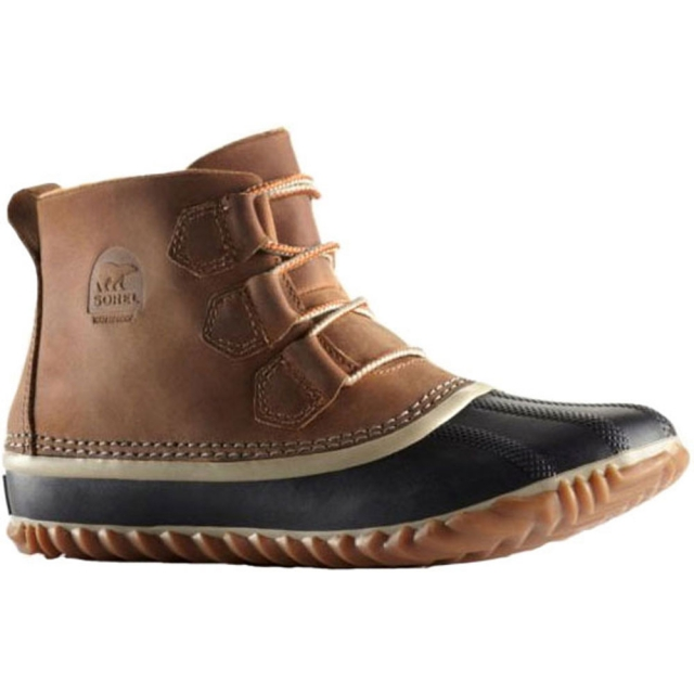 Sorel - Out N About Leather Boot Womens - Elk 7
