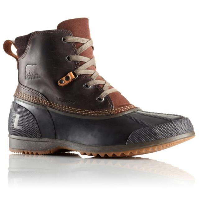 Sorel - Mens Ankeny Boot - Sale Tobacco/Elk 10