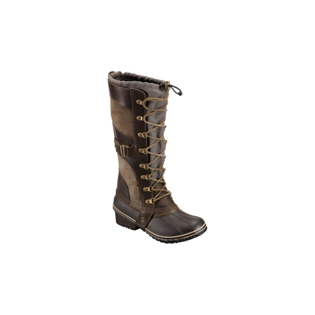 Sorel - Womens Conquest Carly Boot - Closeout Camo Brown/Pebble 6
