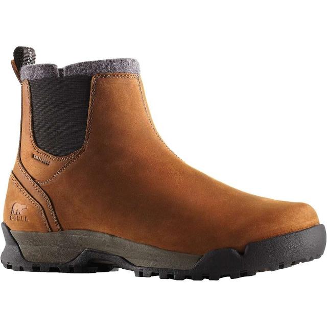 Sorel - Paxson Chukka Waterproof Pull On Boots Mens Closeout (Elk/Black)