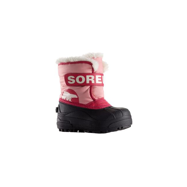 Sorel - Snow Commander Boot Little Kids', Coral Pink/Bright Rose, 12