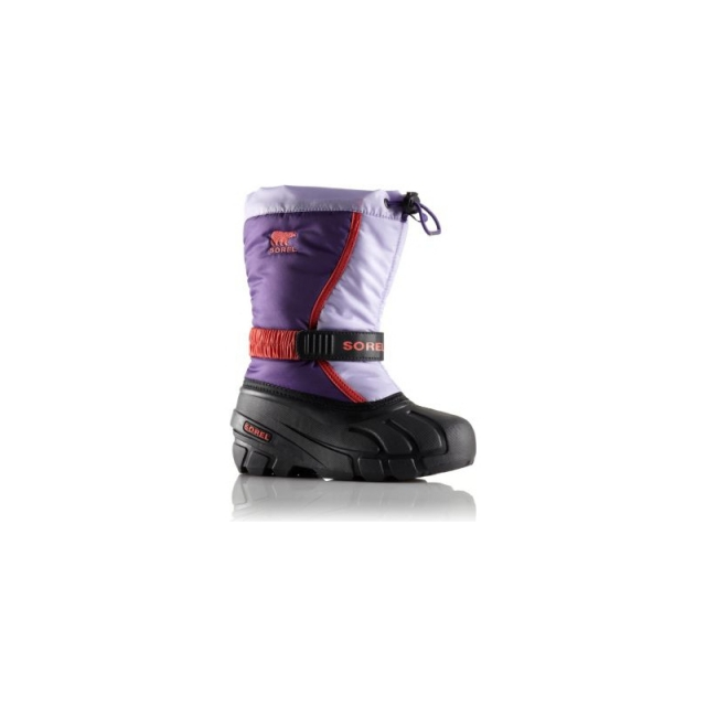 Sorel - Youth Flurry TP Boot - Closeout UW Purple/White 3