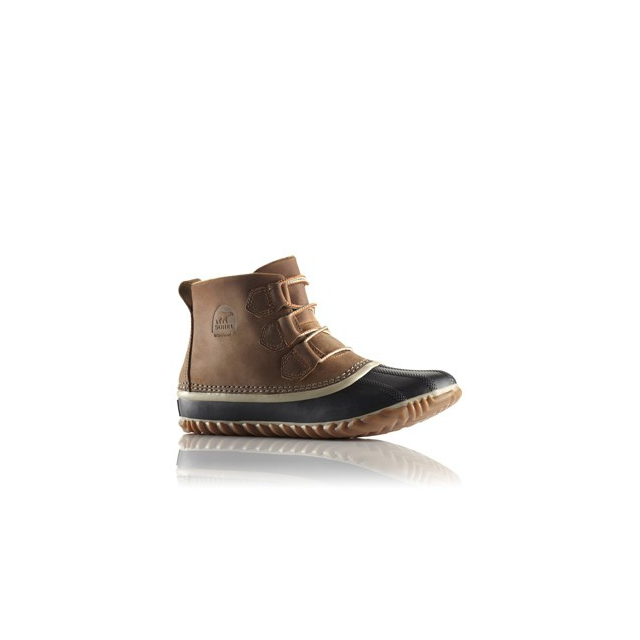 Sorel - Out & About Leather Boot - Women's-Elk-6