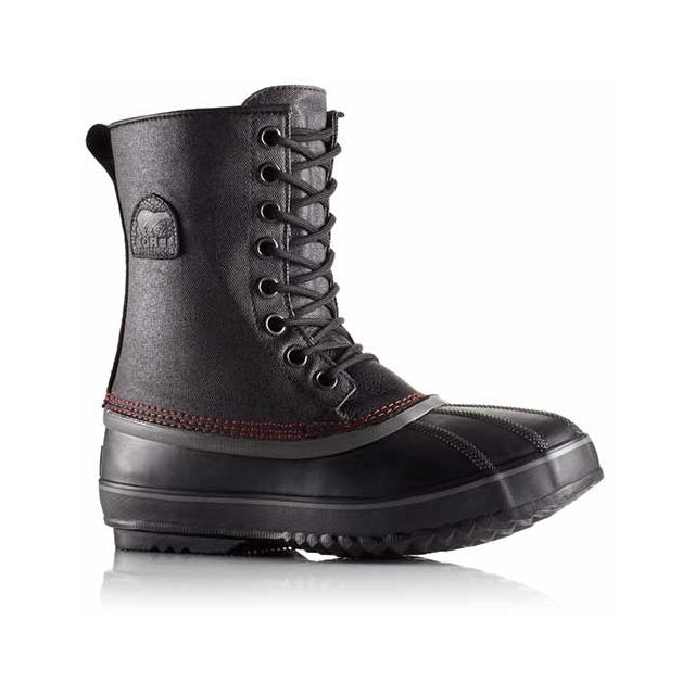 Sorel - 1964 Premium T CVS Snow Boots - Men's: Black/Sail Red, 9