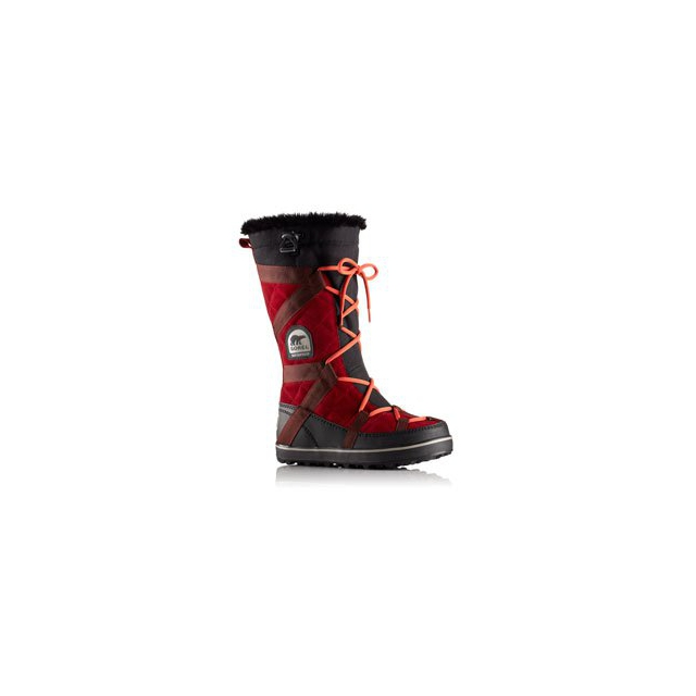 Sorel - Glacy Explorer Boot - Women's - Red Dhalia In Size: 6.5