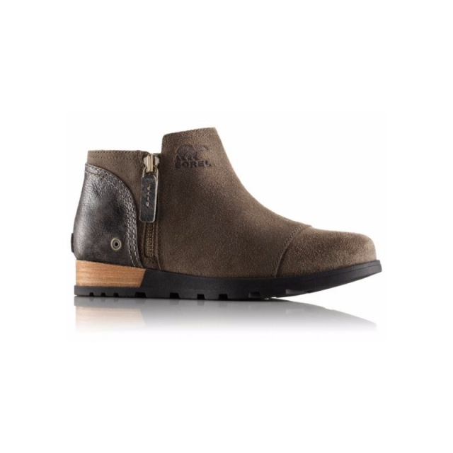 Sorel - Womens Major Low Leather Boot - Closeout Major/Fossil 7