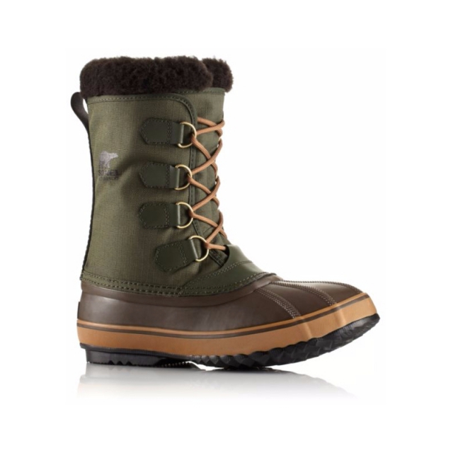 Sorel - Mens 1964 Pac Nylon - Closeout Surplus Green 11.5