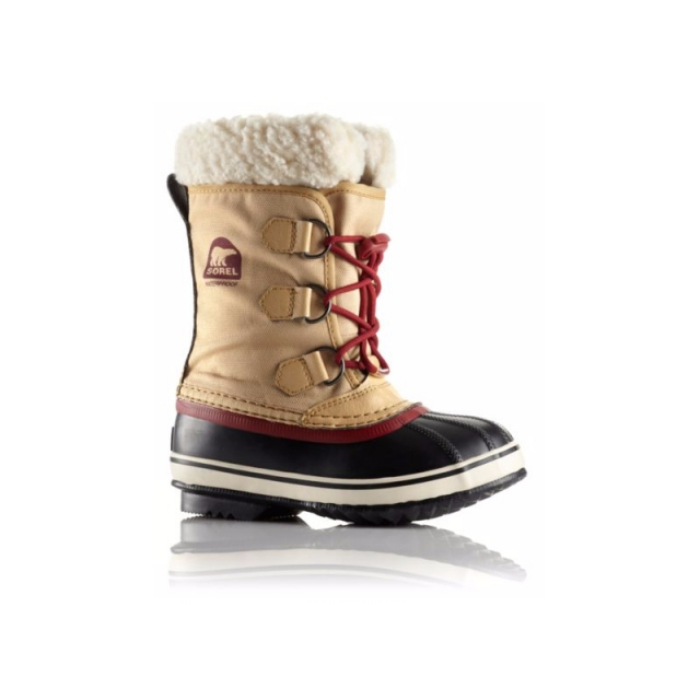 Sorel - Yoot Pac Nylon - Sale Curry/Red Dahl 2