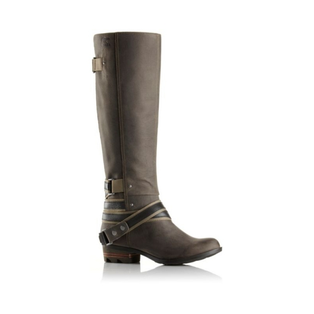 Sorel - Womens Lolla Tall Boot Quarry/Pebble 7