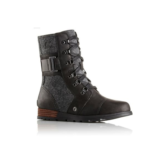 Sorel - Major Carly Boots Womens (Black/Dark Grey)