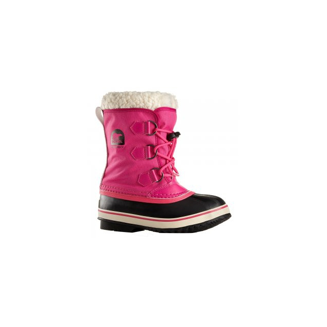 Sorel - Yoot Pact Nylon Boot Girls', Curry/Red Dahlia, 2