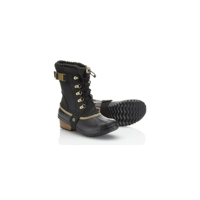 Sorel - Conquest Carly Short Boot - Women's-Black-10