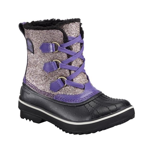 Sorel - Tivoli Glitter Boots - Youth: UW Purple, 3
