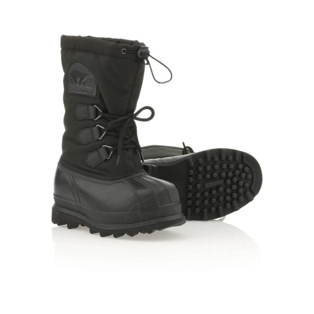 Sorel - Glacier Snow Boots - Youth: Black, 1