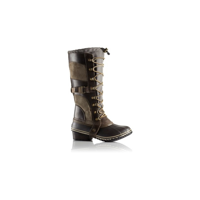 Sorel - Conquest Carly Boot - Women's-British Tan/Flax-5
