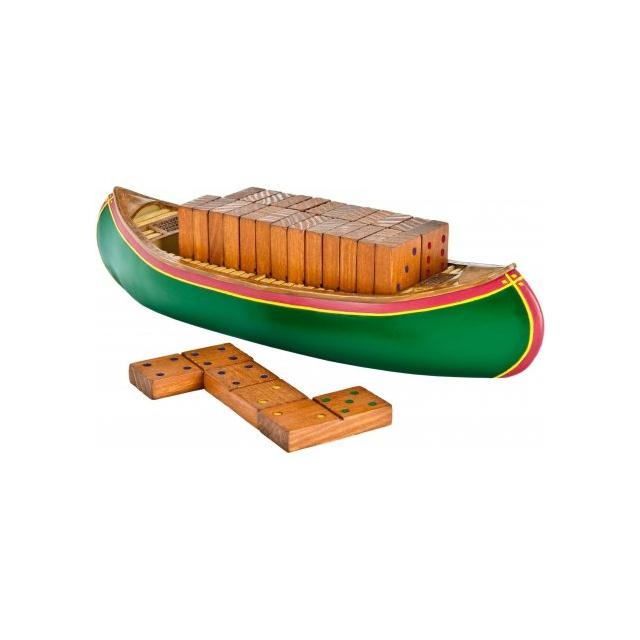 Outside Inside - Canoe Dominoes Set
