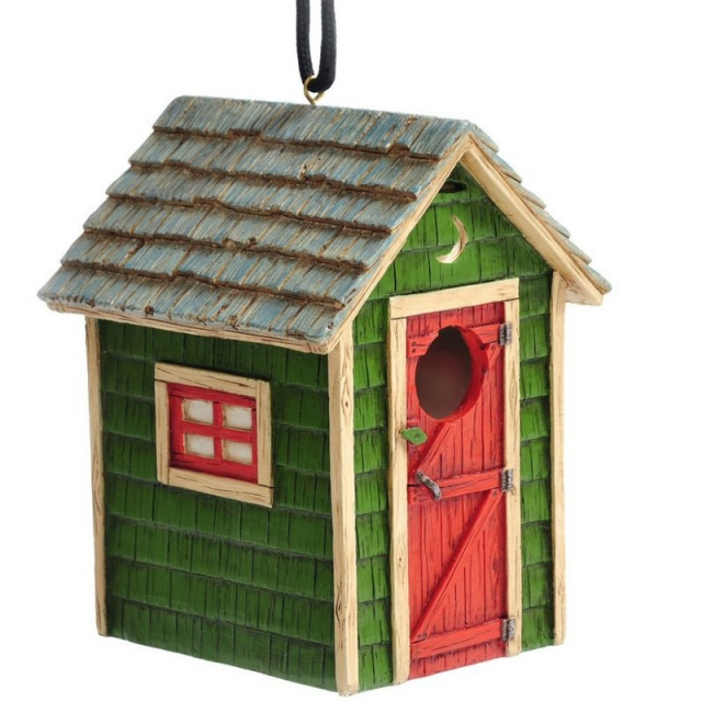 Outside Inside - Outhouse Birdhouse