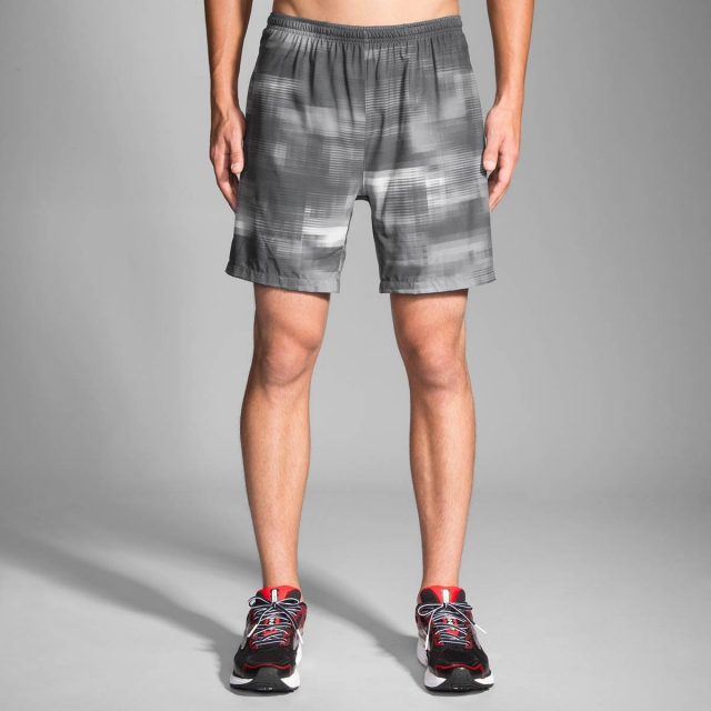 "Brooks Running - Men's Sherpa 7"" 2-in-1 Short"