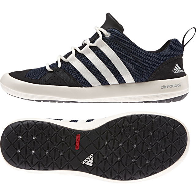 Adidas - Boat CC Lace Shoe Mens - Col.Navy/Chalk White/Black 10