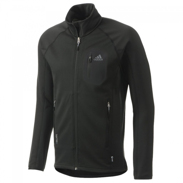 Adidas - Cocona Fleece Jacket - Men's Black Large