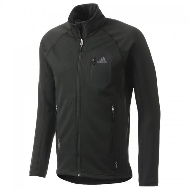 Adidas - Cocona Fleece Jacket - Men's Black Large
