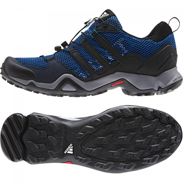 Adidas - Terrex Swift R Hiking Shoe - Men's Collegiate Navy/Black/Solar Blue - 10