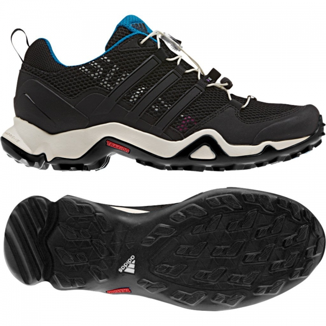 Adidas - Swift R Hiking Shoe - Women's Black/Solar Blue - 5