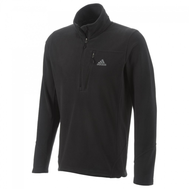 Adidas - Hiking Reachout Fleece - Men's Black Large