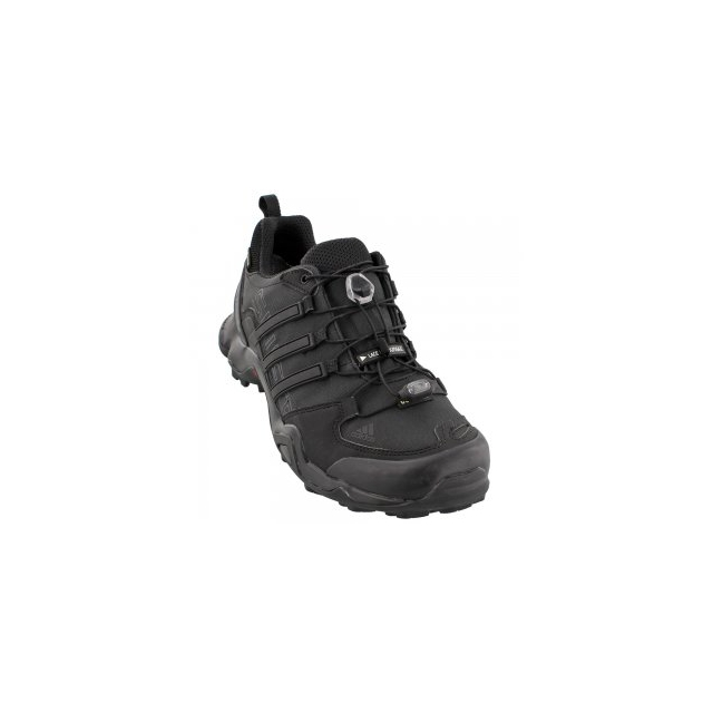 Adidas - Terrex Swift R GORE-TEX Hiking Shoe Men's, Black/Dark Grey, 10.5
