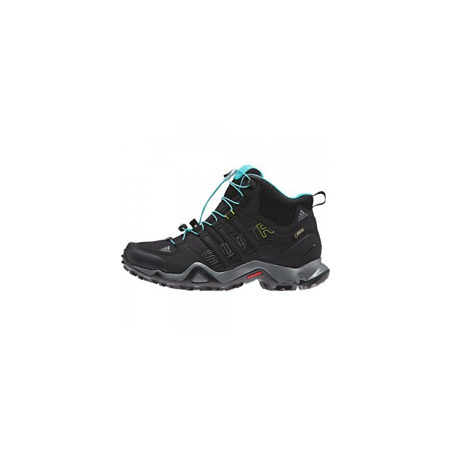 Adidas - Terrex Swift R Mid GORE-TEX Hiking Boot Women's, Black/Vista Grey, 10