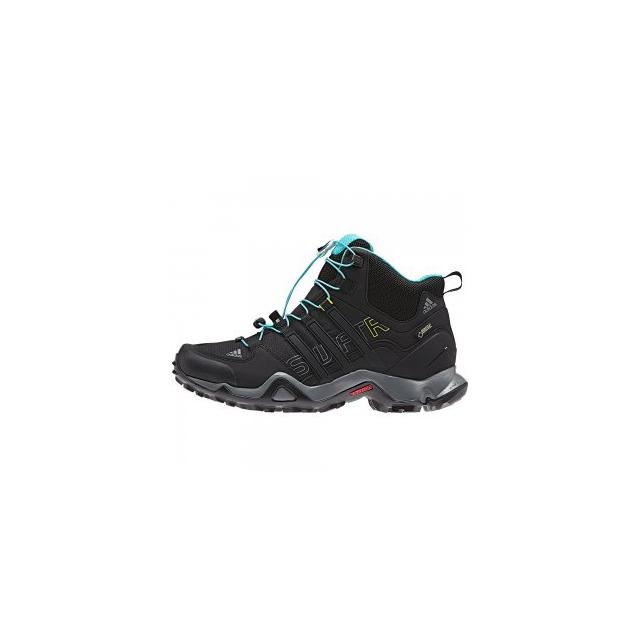 Adidas - Terrex Swift R Mid GORE-TEX Hiking Boot Women's, Black/Vista Grey, 10.5