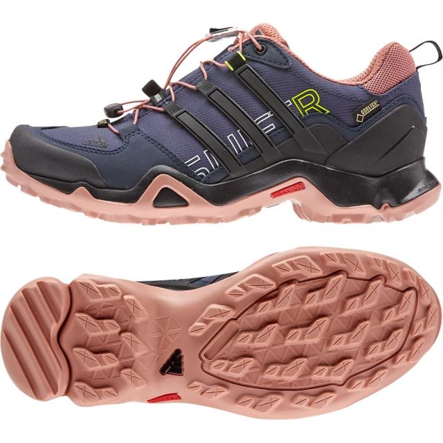 Adidas - Terrex Swift R GTX Shoe Womens - Midnight Grey/Black/Raw Pink 9