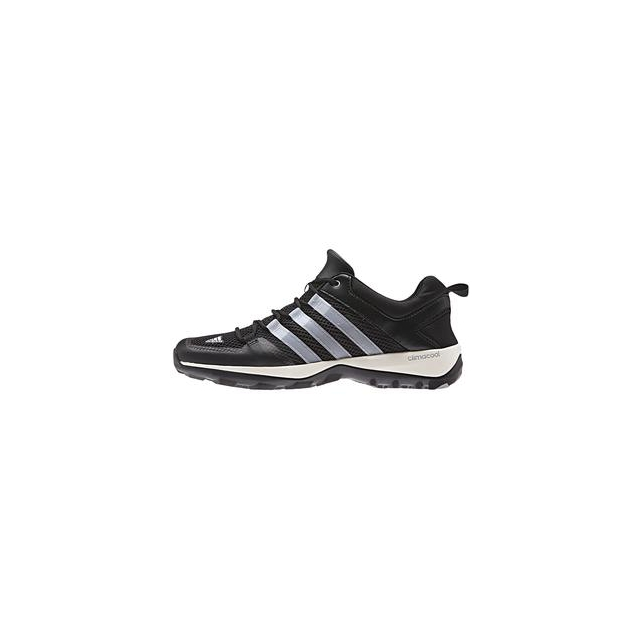 Adidas - ClimaCool Daroga Plus Shoe Men's, Black/Chalk White/Silver Metallic, 10.5