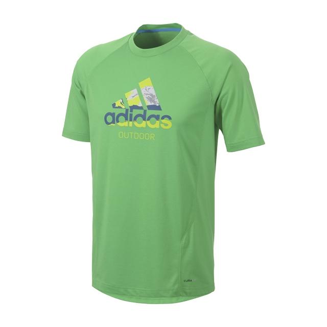 Adidas - - Mens Hiking Dri-Release Logo Tee