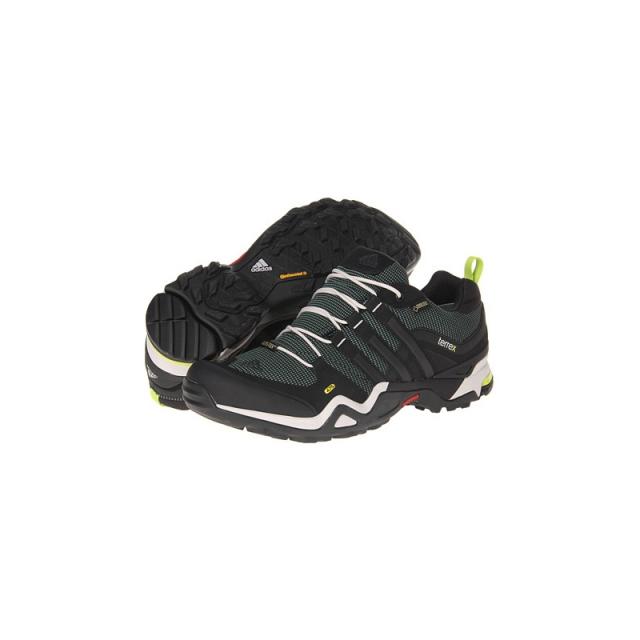 Adidas - Mens Terrex Fast X GTX Shoe - Sale Vista Green/Black/Pearl Grey