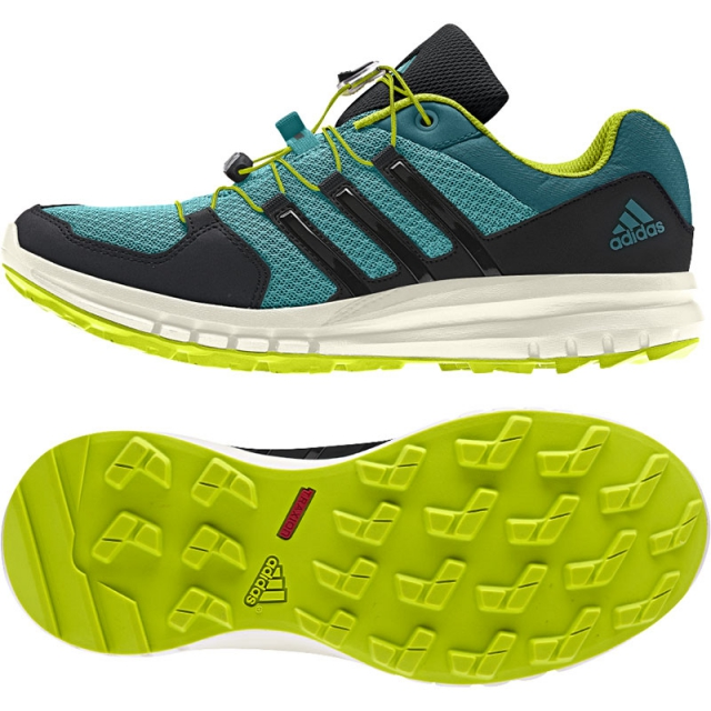 Adidas - Duramo Cross X Shoe Womens - Vividmint/Black/Power Teal 8.5
