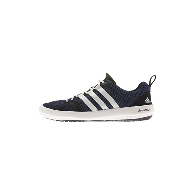 Adidas - Mens Climacool Boat Lace Shoe - Sale Collegiate Navy/Chalk/Black