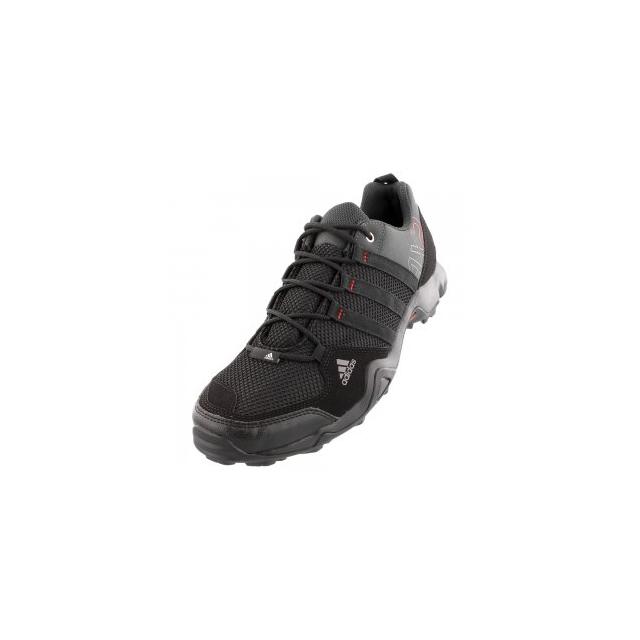 Adidas - AX2 Hiking Shoe Men's, Dark Shale/Black/Light Scarlet, 10