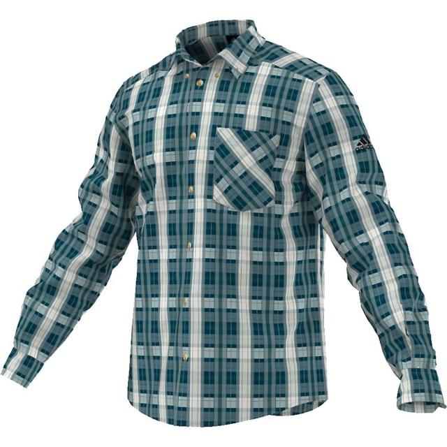 Adidas - Men's Hiking Flannel Long Sleeve Shirt